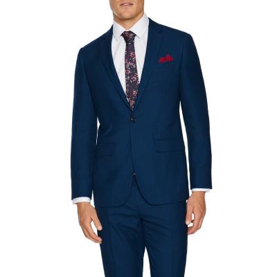 Fashion 4 Men - Tarocash Hilton Slim Suit Jacket Blue 48
