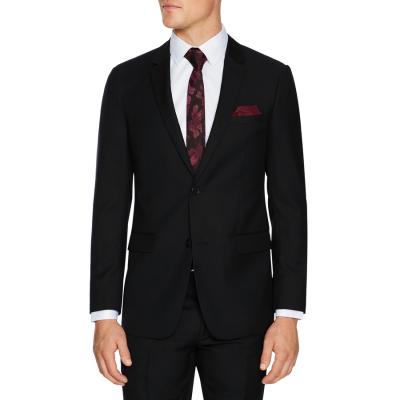 Fashion 4 Men - Tarocash Jax Slim Wool Suit Jacket Black 46