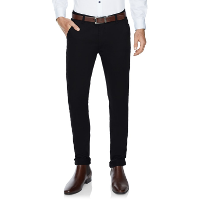Fashion 4 Men - Tarocash Joel Skinny Stretch Pant Black 38