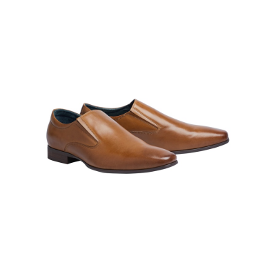 Fashion 4 Men - Tarocash Jonah Slip On Shoe Tan 8