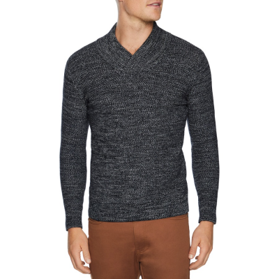Fashion 4 Men - Tarocash Jordan Textured Knit Charcoal Xxxl