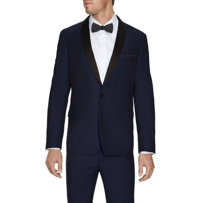 Fashion 4 Men - Tarocash King Shawl Tuxedo Jacket Navy M
