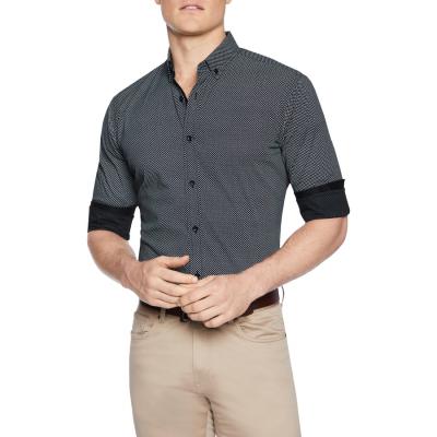 Fashion 4 Men - Tarocash Knight Print Shirt Black Xxxl