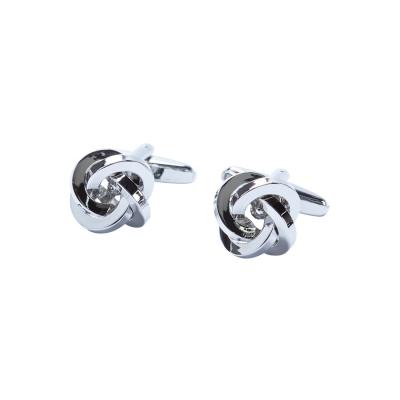 Fashion 4 Men - Tarocash Knot Cufflink Silver 1