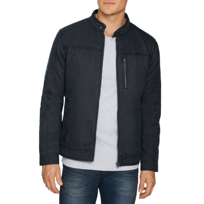 Fashion 4 Men - Tarocash Kurt Moto Jacket Navy Xxxl