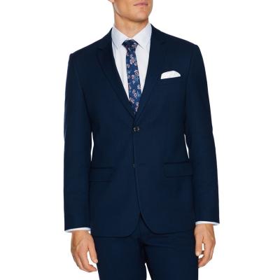 Fashion 4 Men - Tarocash Lachlan Stretch Suit Jacket Navy 46