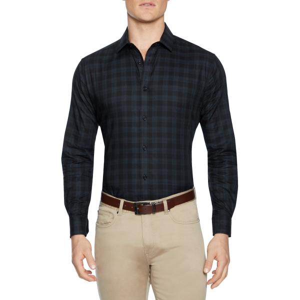 Fashion 4 Men - Tarocash Meymott Check Shirt Black Xl
