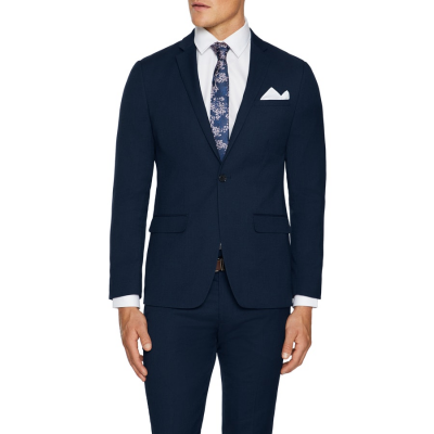 Fashion 4 Men - Tarocash Montford Skinny Suit Jacket Navy 34