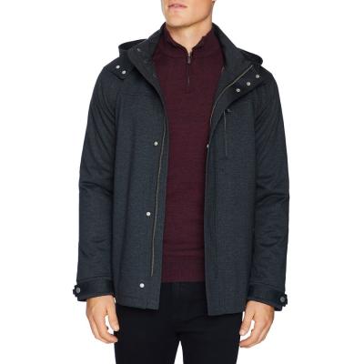 Fashion 4 Men - Tarocash Neo Hooded Jacket Charcoal Xxl