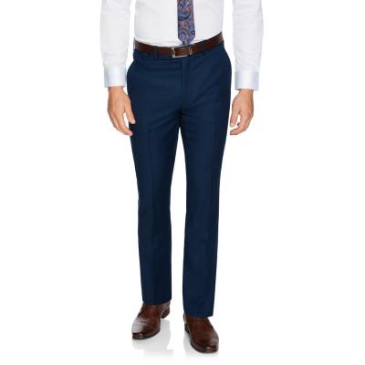 Fashion 4 Men - Tarocash Obi Slim Wool Blend Pant Navy 32