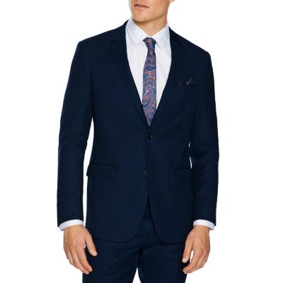 Fashion 4 Men - Tarocash Obi Slim Wool Blend Suit Jacket Navy 42