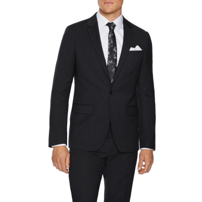 Fashion 4 Men - Tarocash Oliver Slim Stretch Suit Jacket Black 34