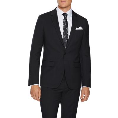 Fashion 4 Men - Tarocash Oliver Slim Stretch Suit Jacket Black 46