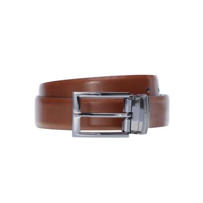Fashion 4 Men - Tarocash Payne Prong Belt Tan/Black 44