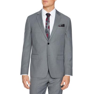 Fashion 4 Men - Tarocash Reggie Stretch Suit Jacket Silver 40