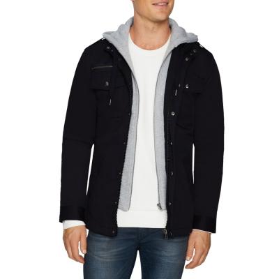 Fashion 4 Men - Tarocash Reserve Hooded Jacket Navy S