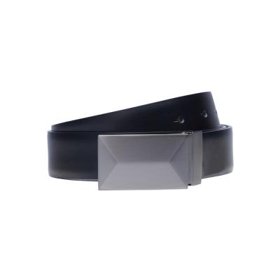 Fashion 4 Men - Tarocash Rome Reversible Belt Black/Choc 36