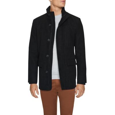 Fashion 4 Men - Tarocash Sako Luxe Touch Coat Black M