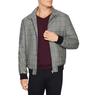 Fashion 4 Men - Tarocash Sam Check Bomber Grey Xxl