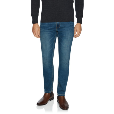 Fashion 4 Men - Tarocash Seattle Slim Knit Jean Blue 34