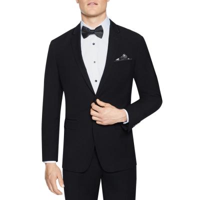 Fashion 4 Men - Tarocash Supreme Trim Stretch Suit Jacket Black 36