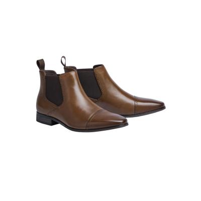 Fashion 4 Men - Tarocash Tasso Gusset Boot Brown 12