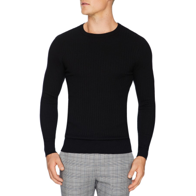 Fashion 4 Men - Tarocash Timberlake Rib Knit Black S