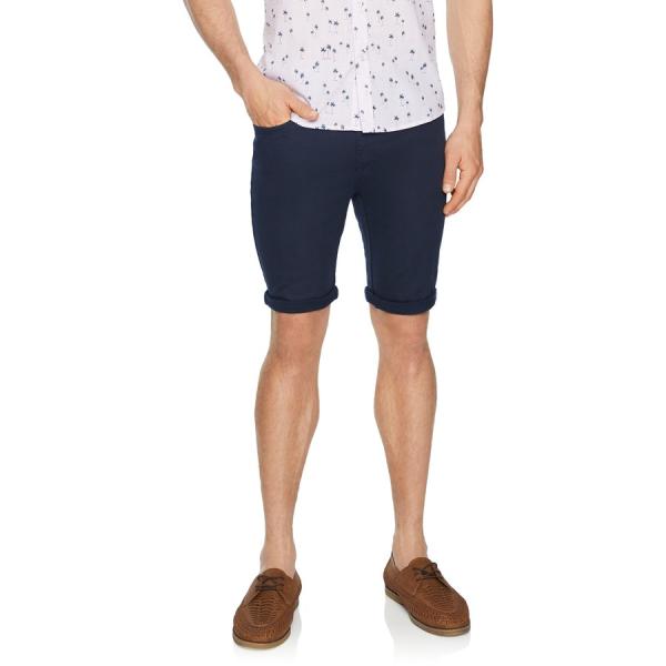 Fashion 4 Men - Tarocash Ulto Slim Short Navy 30