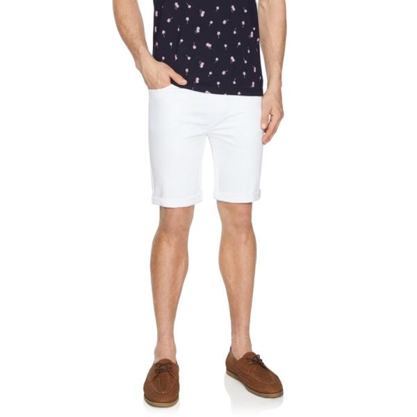 Fashion 4 Men - Tarocash Ulto Slim Short White 40