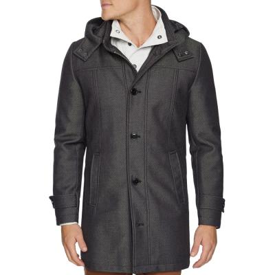 Fashion 4 Men - Tarocash Wakefield Coat Grey Xxl