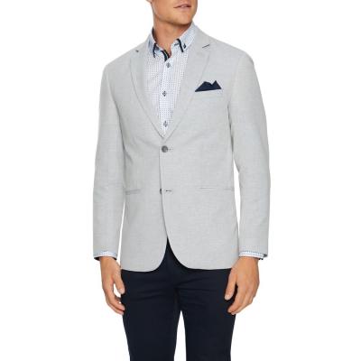 Fashion 4 Men - Tarocash Wilson Linen Blazer Grey Xl