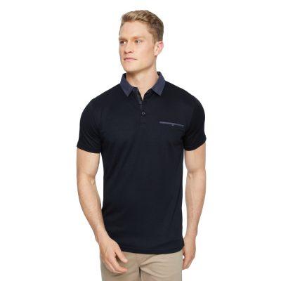 Fashion 4 Men - Tarocash Capri Luxe Touch Modal Polo Black S