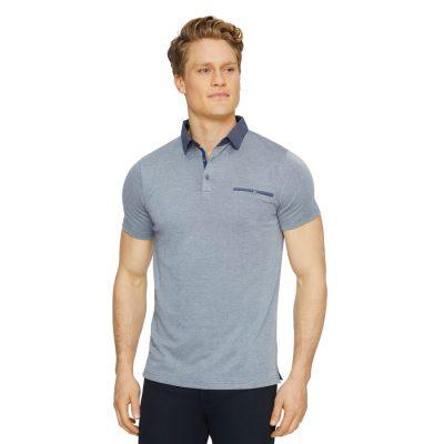 Fashion 4 Men - Tarocash Capri Luxe Touch Modal Polo Navy Marle M