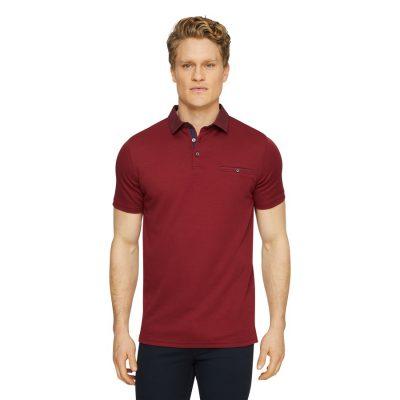 Fashion 4 Men - Tarocash Capri Luxe Touch Modal Polo Red Xl