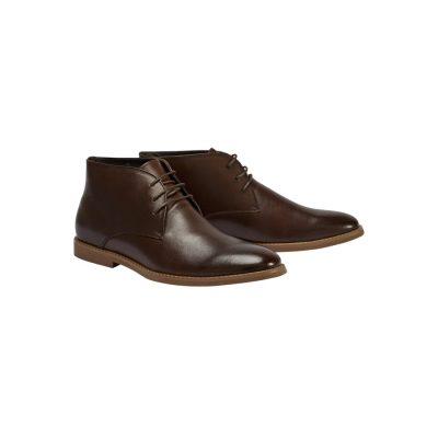Fashion 4 Men - Tarocash Joesph Lace Up Boot Chocolate 7