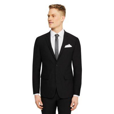 Fashion 4 Men - Tarocash Lance Skinny Stretch Suit Jacket Black 38