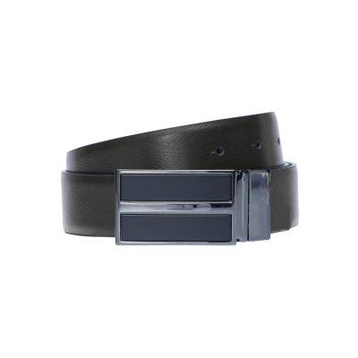 Fashion 4 Men - Tarocash Peter Reversible Belt Black Brown 40