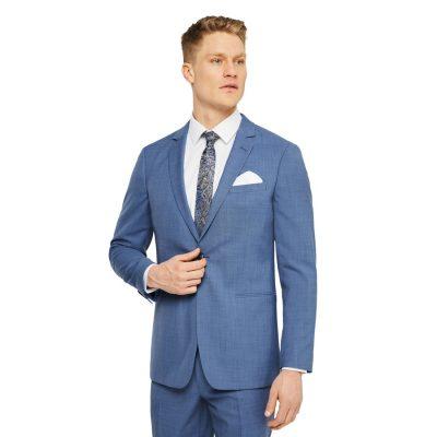 Fashion 4 Men - Tarocash Sanford Slim Stretch Suit Jacket Blue 44