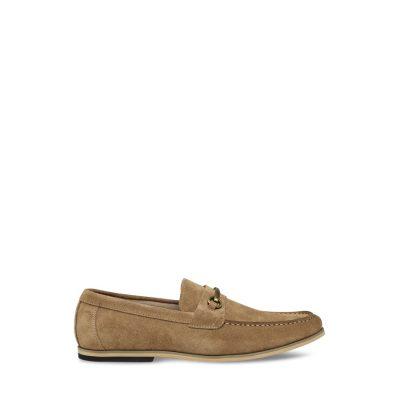 Fashion 4 Men - Tarocash Taylor Suede Loafer Natural 11