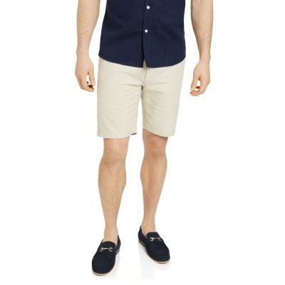 Fashion 4 Men - Tarocash Thornton Linen Short Natural 35