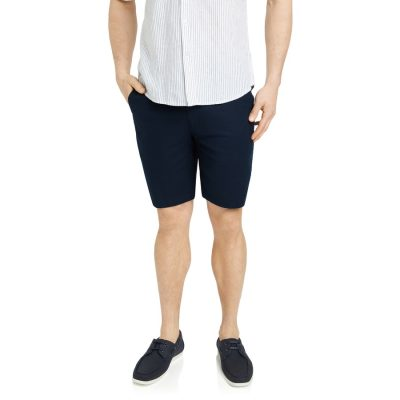 Fashion 4 Men - Tarocash Thornton Linen Short Navy 30