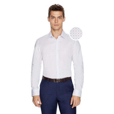 Fashion 4 Men - yd. Akor Dress Shirt White L