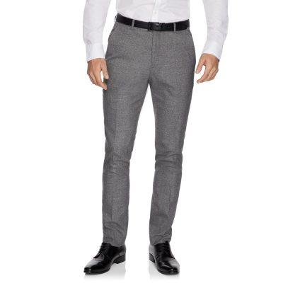 Fashion 4 Men - yd. Cadillac Skinny Textured Dress Pant Pewter 28