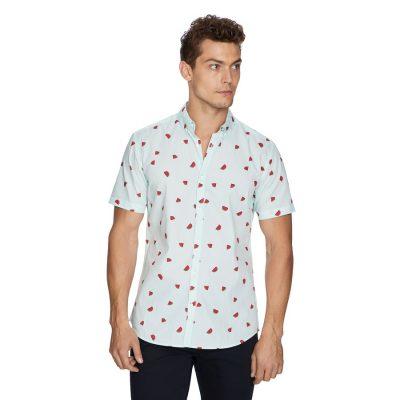 Fashion 4 Men - yd. Colossal Fun Shirt Soft Mint S