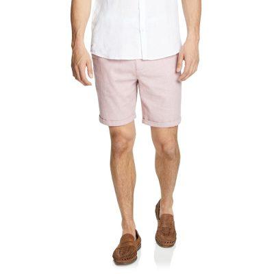 Fashion 4 Men - yd. Cullen Linen Blend Short Pink 26