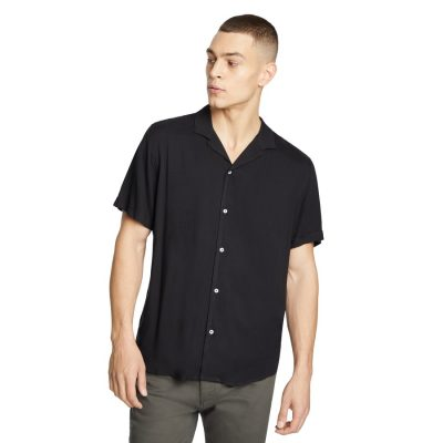 Fashion 4 Men - yd. Ezekiel Viscose Shirt Black M