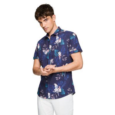 Fashion 4 Men - yd. Finland Print Shirt Multi L