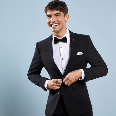 Fashion 4 Men - yd. Goodfella Skinny Suit Jacket Black 44