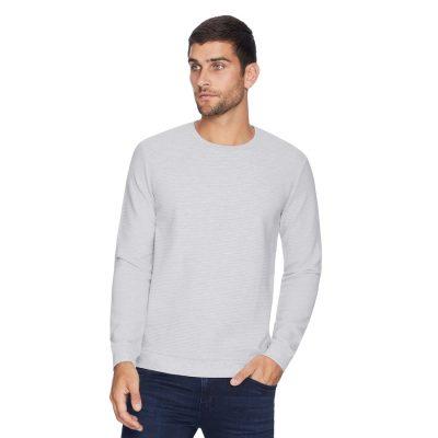 Fashion 4 Men - yd. Grand Textured Top Grey L