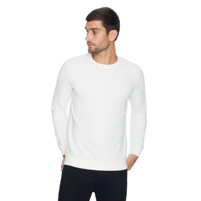 Fashion 4 Men - yd. Grand Textured Top White L